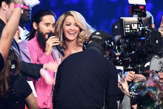 Jared Leto e Rita Ora