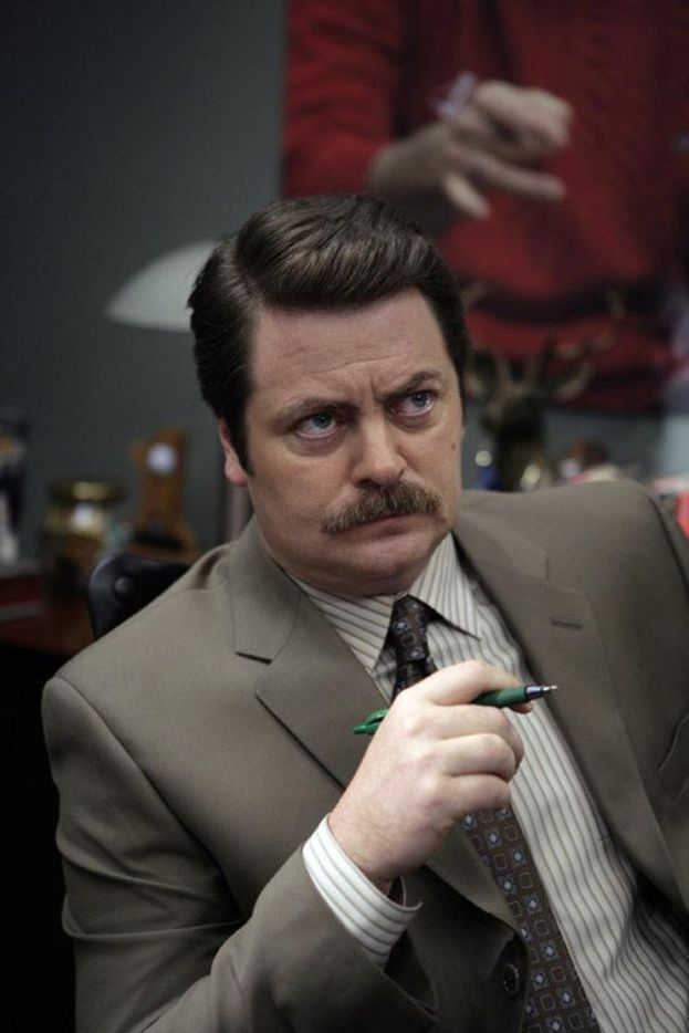 "Ron Swanson (Nick Offerman) - ""Parks and Recreation"""