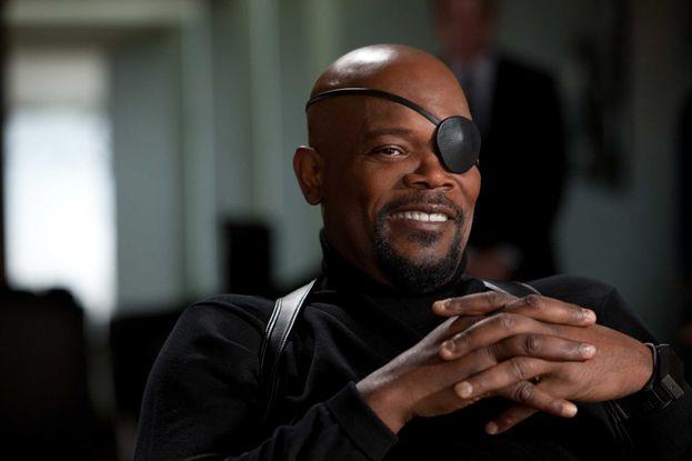 "Nick Fury - i vari ""Iron-Man"", ""Avengers"" e ""Captain America"""