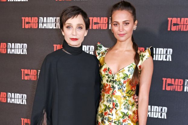 Kristin Scott Thomas e Alicia Vikander