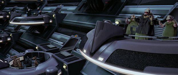 "ET in ""Star Wars: Episodio I - La minaccia fantasma"" (1999)"