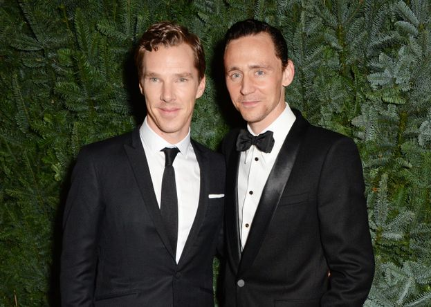 Benedict Cumberbatch e Tom Hiddleston
