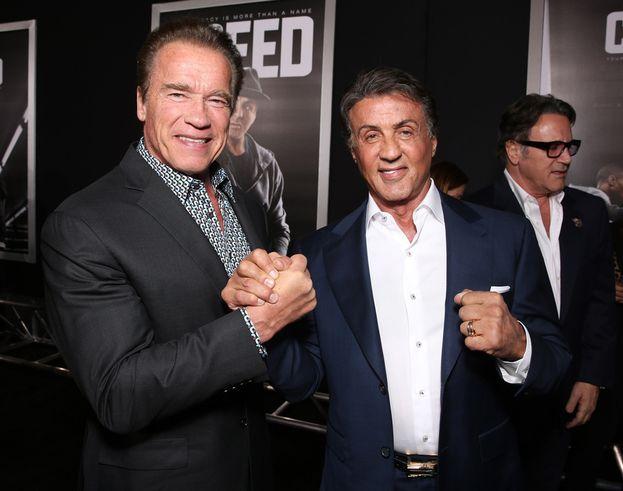 Sylvester Stallone vs. Arnold Schwarzenegger