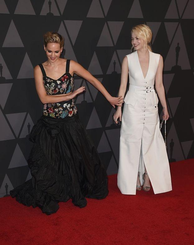 Jennifer Lawrence ed Emma Stone