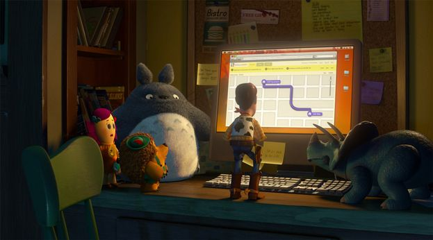 "Totoro in ""Toy Story 3"" (2010)"