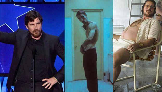 """Tra i più bravi trasformisti c'è Christian Bale - dai 30 kg persi per """"L'uomo senza sonno"""" ai 20 kg in più per """"American Hustle"""". Ma la lista sarebbe anche più lunga."""