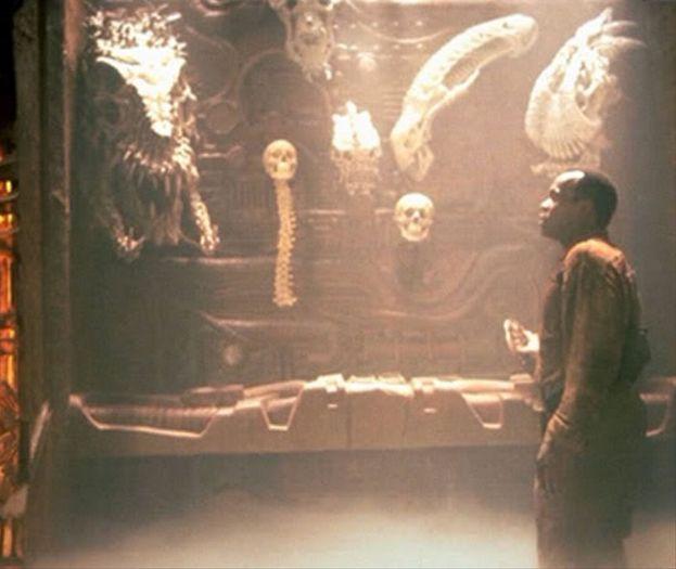 """Lo xenomorfo in """"Predator 2"""" (1990)"""