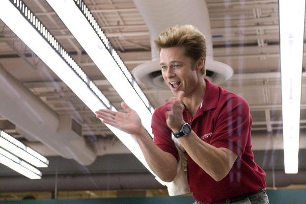 Brad Pitt - Uomo pollo
