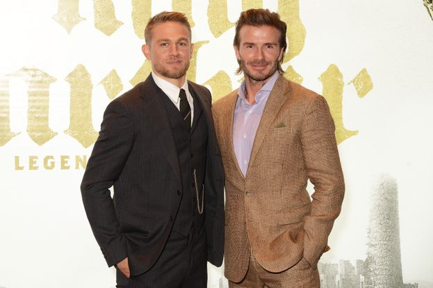 con David Beckham
