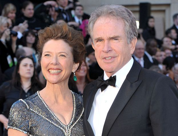 Annette Bening e Warren Beatty, sposati dal 1992