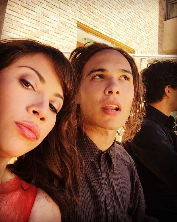 Elizabeth Rodriguez e Frank Dillane (Nick Clark)