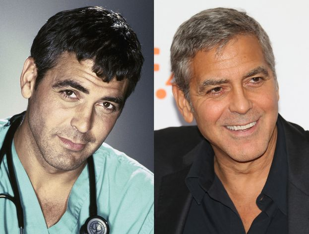 George Clooney - Doug Ross: nel 1994 e nel 2015