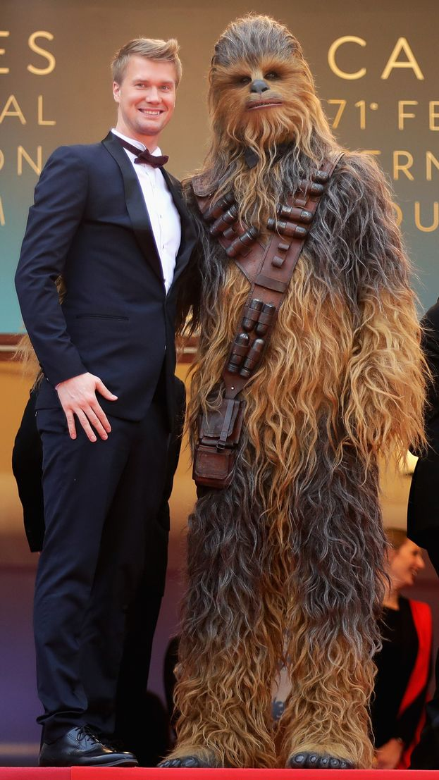Joonas Suotamo e Chewbacca