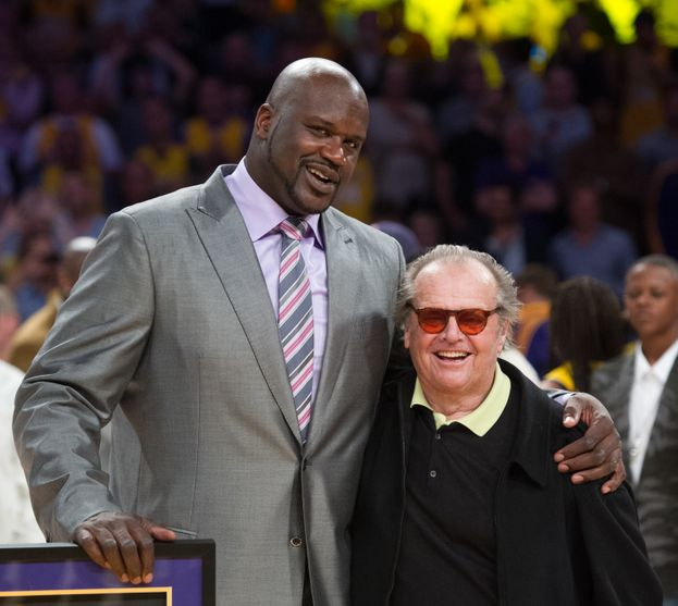 Jack Nicholson - Los Angeles Lakers (basket), qui insieme a Shaquille O'Neal