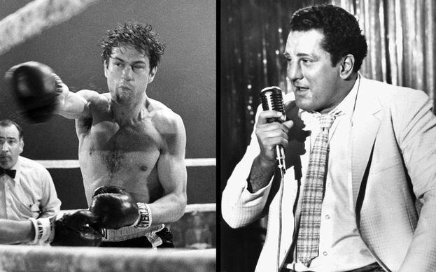"""Robert De Niro ingrassò di circa 27 kg, danneggiando la propria salute, per il ruolo di Jake LaMotta in """"Toro scatenato""""."""