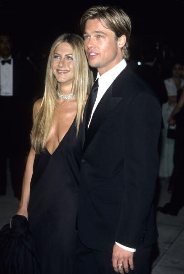 Jennifer Aniston e Brad Pitt nel 2000