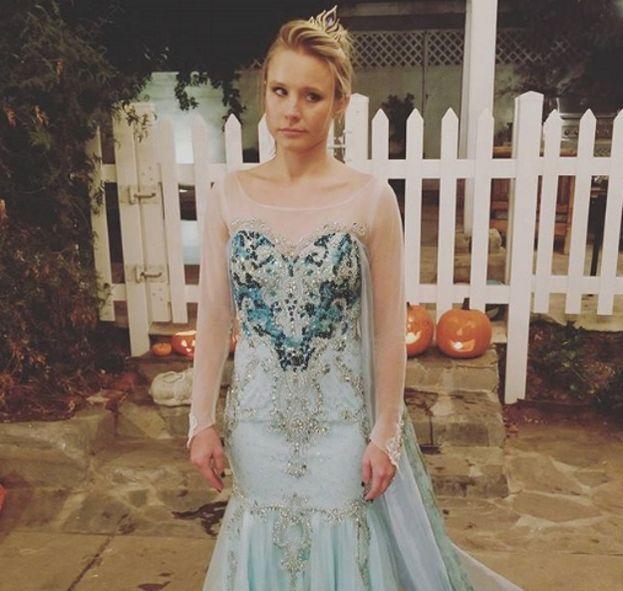 Kristen Bell (Elsa di Frozen)