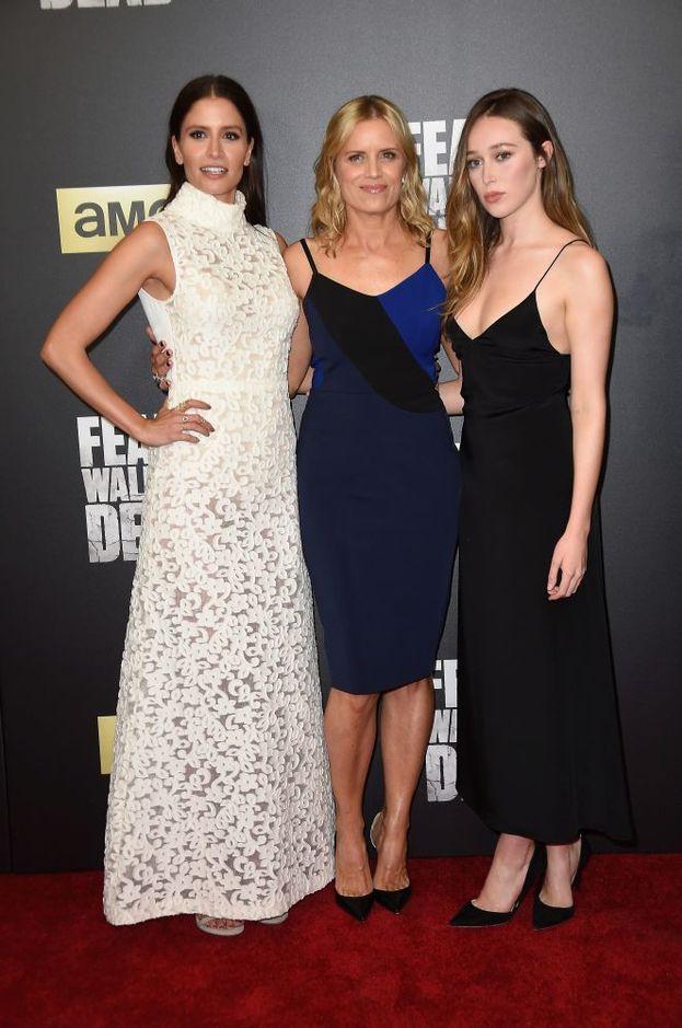 Kim Dickens, Alycia Debnam-Carey e Mercedes Masohn
