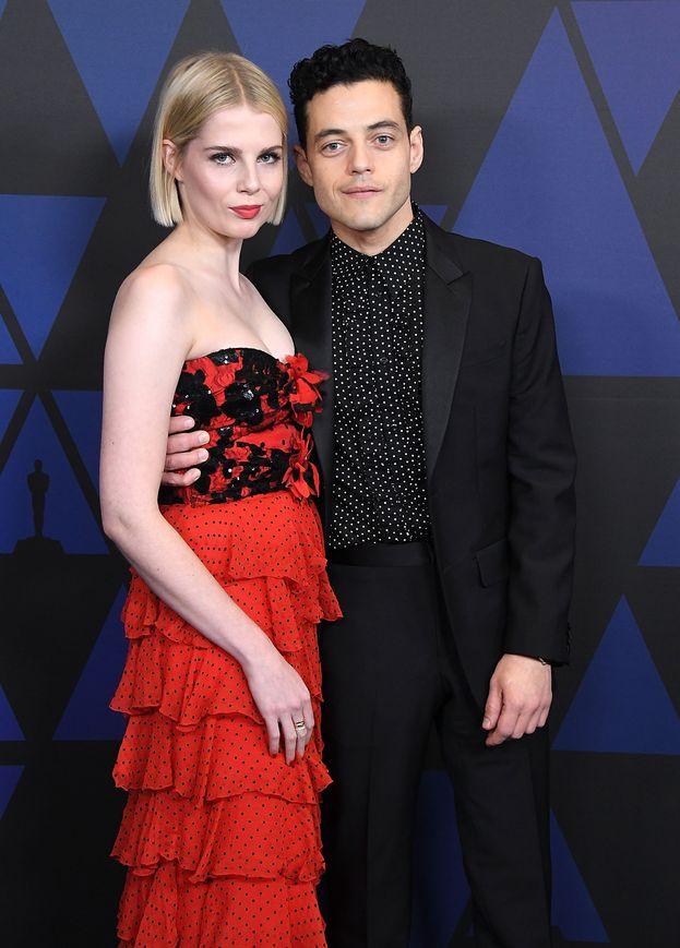 Lucy Boynton e Rami Malek