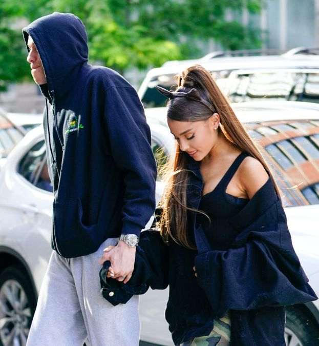 4. Ariana Grande e Pete Davidson