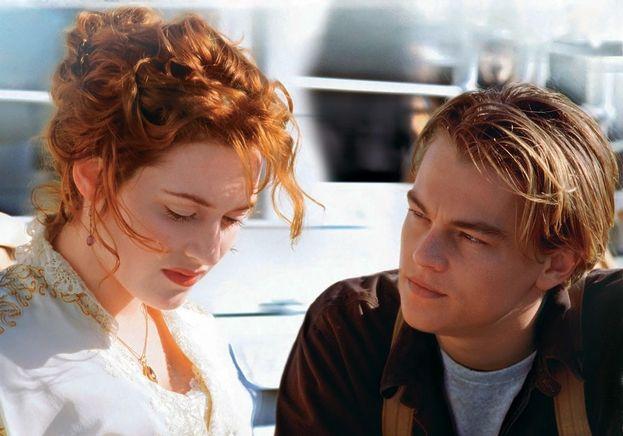 "Kate Winslet su ""Titanic"" (1997)"
