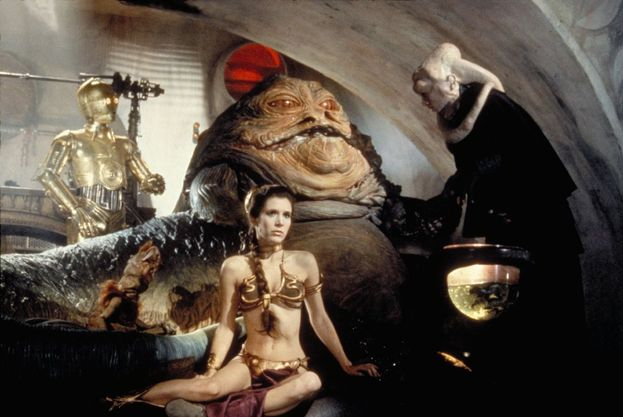 """Carrie Fisher - """"Il ritorno dello Jedi"""" (1983)"""