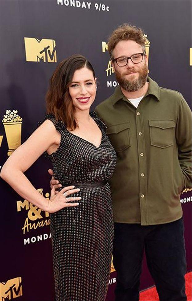 Seth Rogen e Lauren Miller