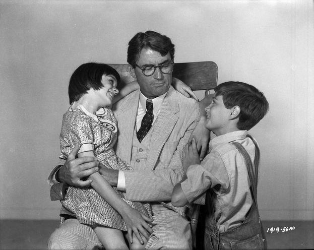 """Atticus Finch - """"Il buio oltre la siepe"""" (1962)"""