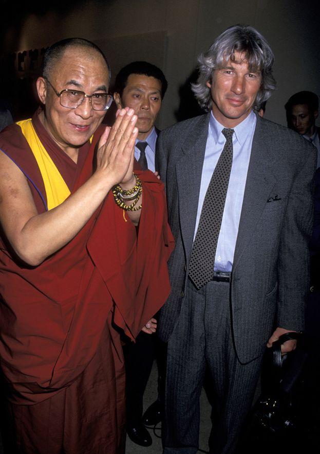 1994, insieme al Dalai Lama