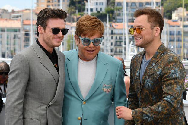 Richard Madden, Elton John e Taron Egerton