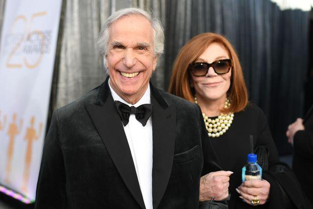 Henry Winkler e la moglie Stacey Weitzman