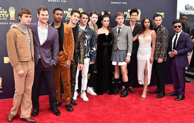 Il cast della serie Tredici - 13 Reasons Why