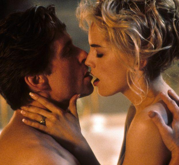 Michael Douglas e Sharon Stone