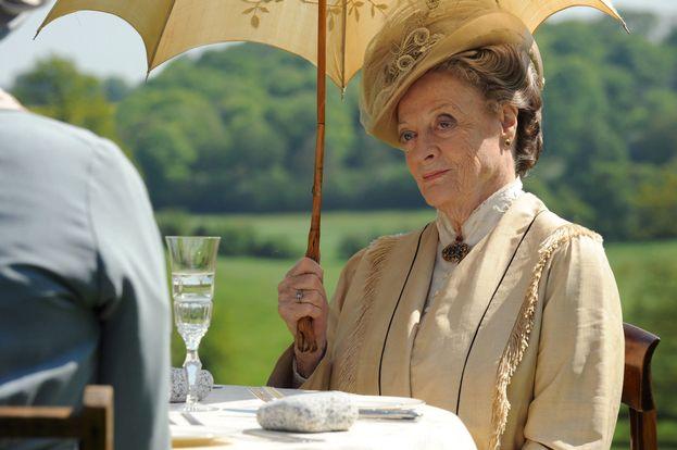 """Miglior attrice non protagonista in una serie drammatica: Maggie Smith per """"Downton Abbey"""""""