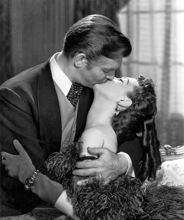 "Vivien Leigh e Clark Gable - ""Via col vento"" (1939)"