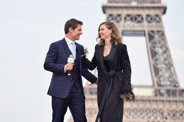 Tom Cruise e Rebecca Ferguson