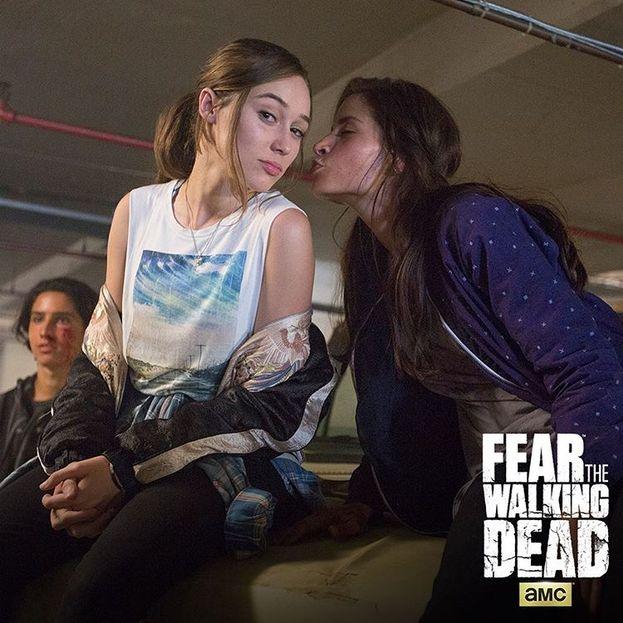 Alycia Debnam-Carey e Mercedes Mason