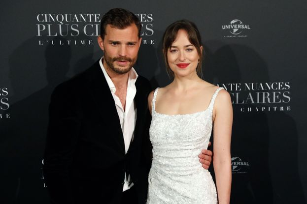 Jamie Dornan e Dakota Johnson