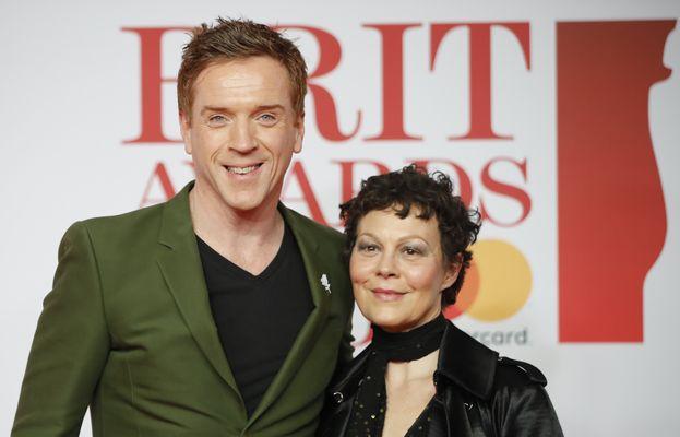 Damian Lewis e la moglie Helen McCrory