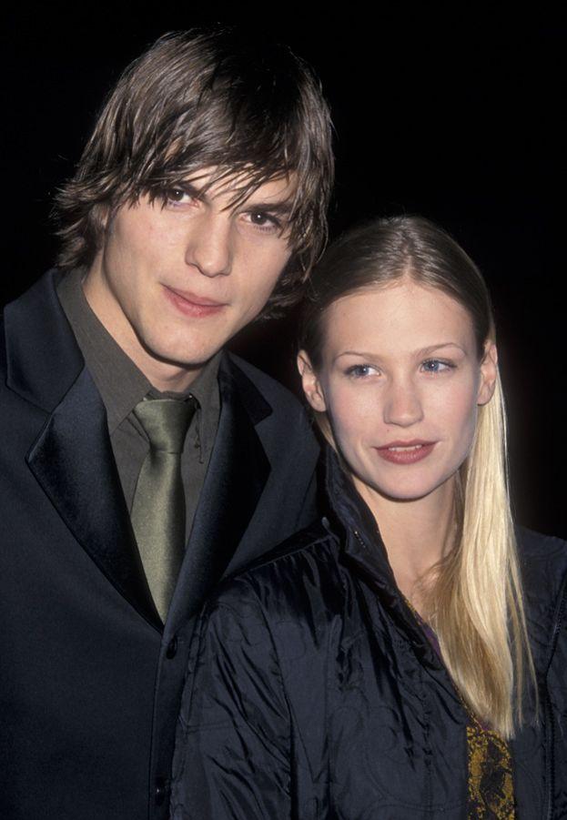 Ashton Kucther e January Jones, 1998-2001