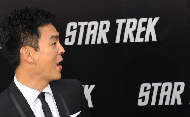 John Cho (Ten. Com. Hikaru Sulu)