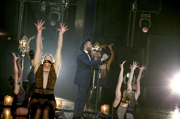 L'esibizione di The Weeknd