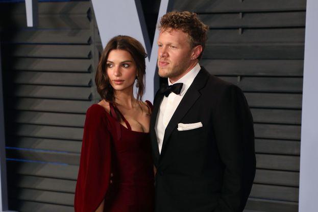 Emily Ratajkowski e il neo marito Sebastian Bear McClard