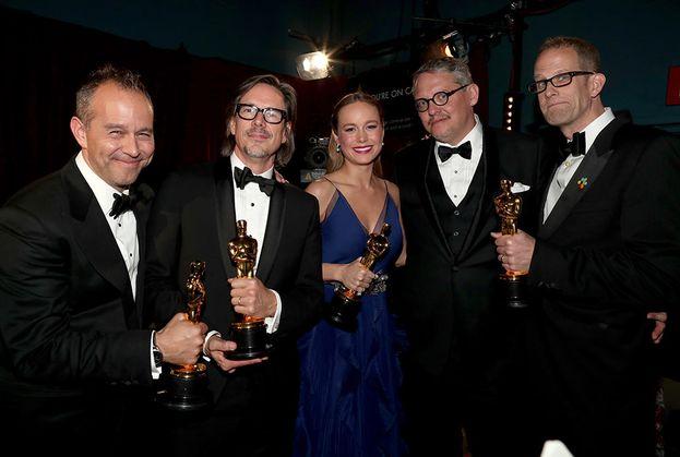 Jonas Rivera, Brie Larson, Adam Mckay, Peter Doctor e Charles Randolph