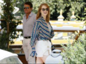 Venezia 75: il giorno de La favorita con Emma Stone