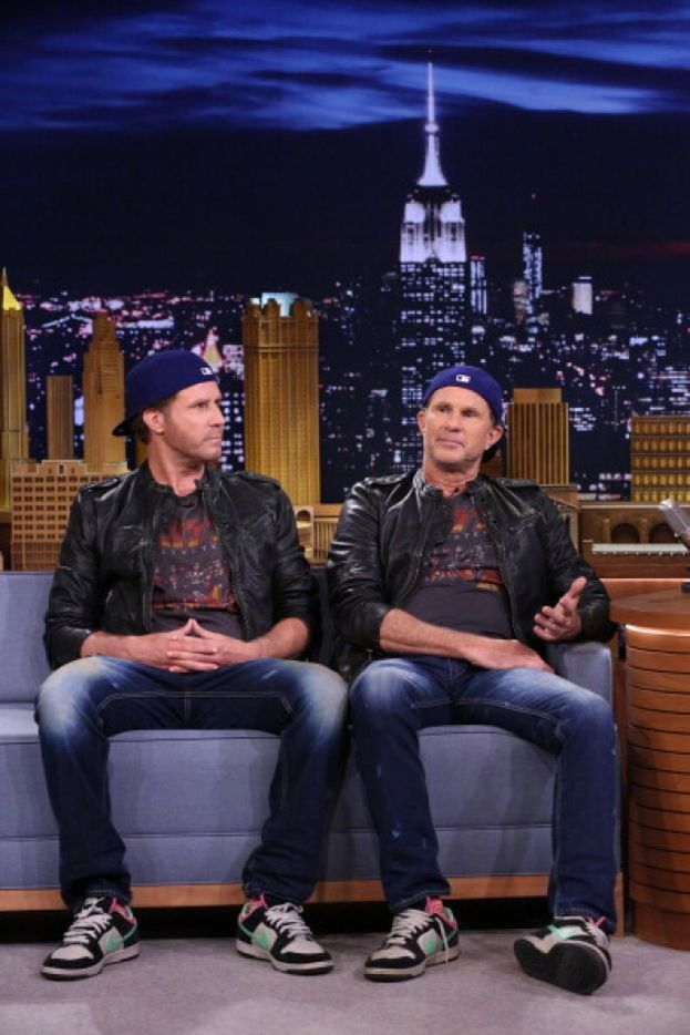 Chad Smith (Red Hot Chili Peppers) e Will Ferrell