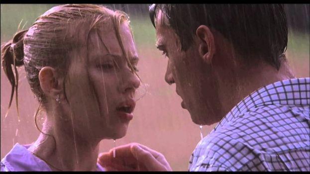 La scena di sesso sotto la pioggia tra Scarlett Johansson e Jonathan Rhys-Meyers (Match Point)