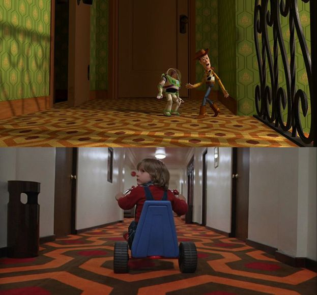 """Shining"" in ""Toy Story"" (1995)"