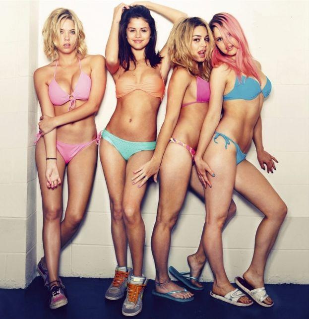 "Ashley Benson, Selena Gomez, Vanessa Hudgens e Rachel Korine – ""Spring Breakers"" (2012)"