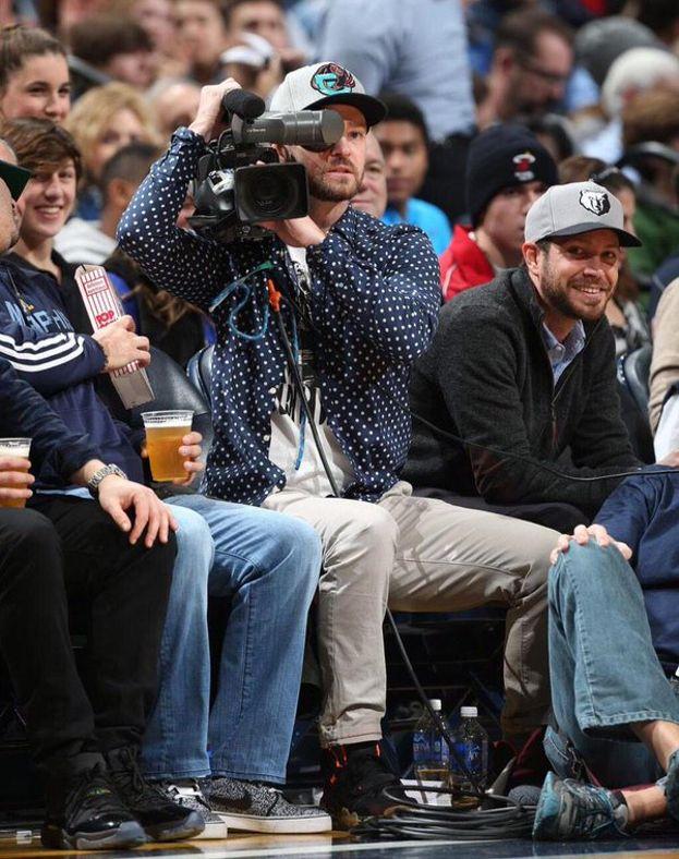 Justin Timberlake - Memphis Grizzlies (basket) e Manchester United (calcio)